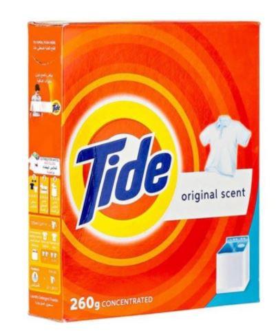 Tide Laundry Detergent Powder 260g
