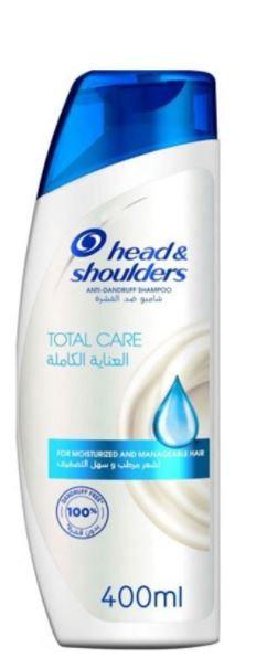 H & S Total Care Anti-Dandruff Shampoo 400ml