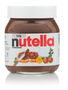 Nutella Hazelnut Spread 350g