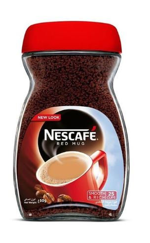 Nescafe Red Mug Double Filter Coffee 50g