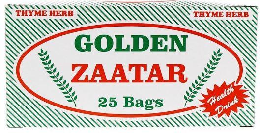 Golden Zaatar Herb Tea 25 Bags