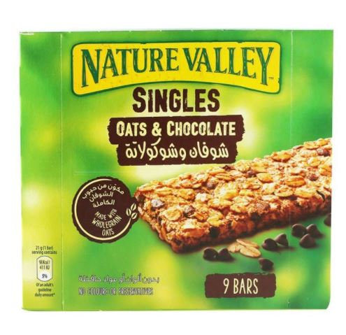 Nature Valley Oats & Chocolate Biscuits 9 bars