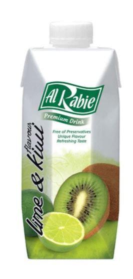Al Rabie Lime & Kiwi Juice 330 ml