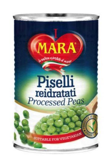 Mara Italian Processed Green Peas 400g