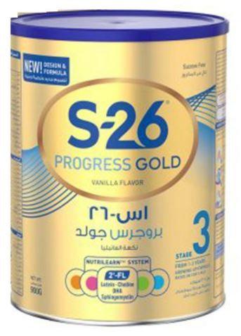 Wyeth S-26 Progress Gold Premium Milk Powder 900g