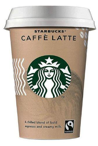 Starbucks Caffe Latte Drink 220ml