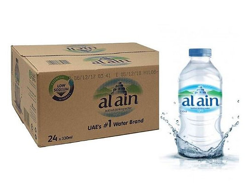 Al Ain Bottled Drinking Water 330ml Pack of 24