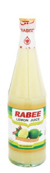 Rabee Lemon Juice Bottle 440 ml