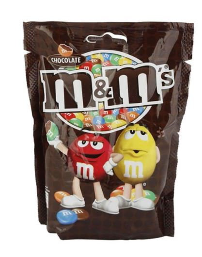M&M Chocolate Packet 180 gram