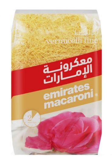 Emirates Macaroni Vermicelli Fine 500g