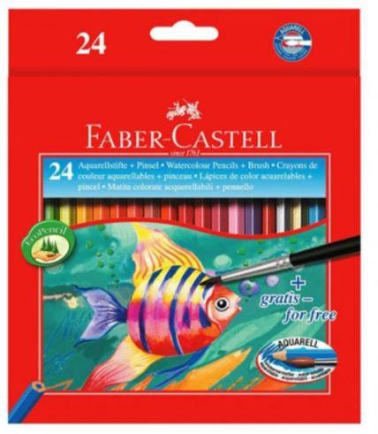 Faber Castell 24-Pieces Water Colour Pencils