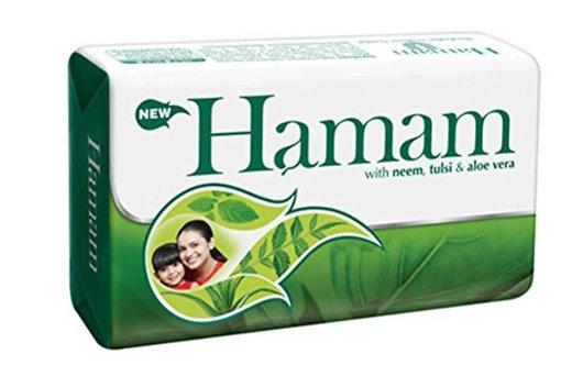 Hamam Soap Bar (Neem, Tulsi & Aloe Vera) 150g