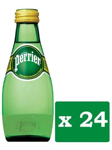 Perrier Natural Mineral Water 200ml Pack of 24
