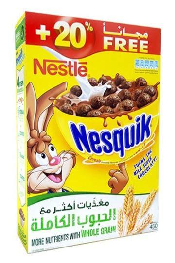 Nestle Nesquik Cereal Whole Grain 450g