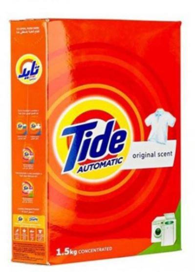 Tide Laundry Detergent Powder Original Scent 1.5kg