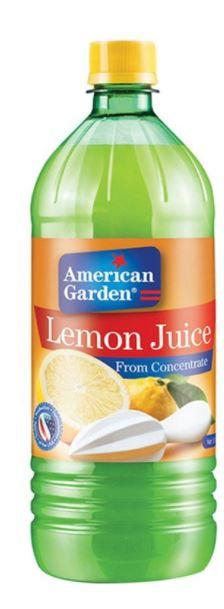 American Garden Lemon Juice 32oz