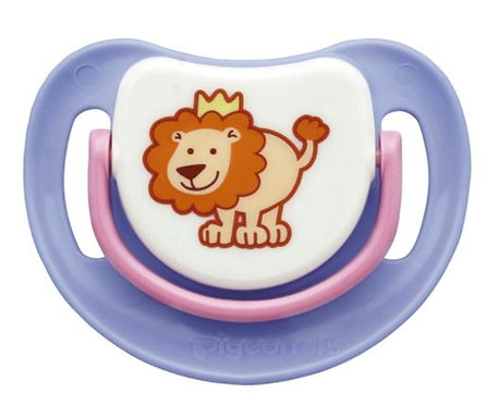 Silicone Pacifier Step 1 Lion