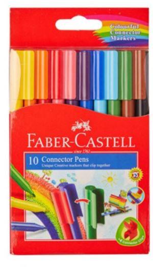 Faber Castell 10-Piece Connector Colour Pen