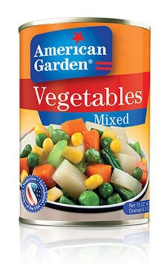 American Garden Mixed Vegetables 425g