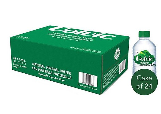 Volvic Natural Mineral Water 330ml Case of 24