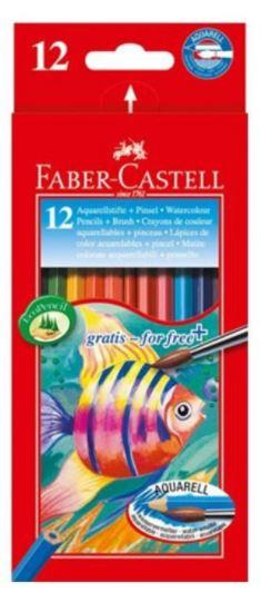 Faber Castell 12-Pieces Water Colour Pencils