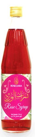 Rose Zara Rose Syrup 710ml