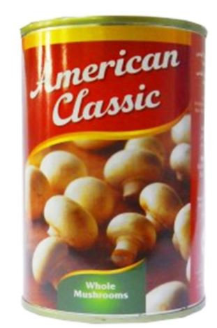 American Classic Whole Mushroom 400g