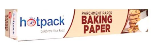 Hotpack Parchment Baking Paper Roll 45cm × 75m