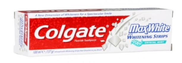 Colgate Max White Tooth Paste Crystal Mint 100ml