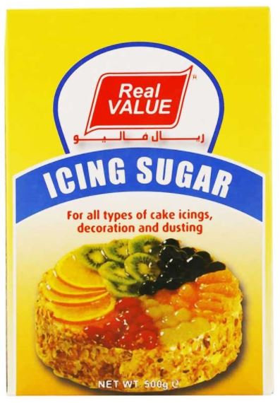Real Value Icing Sugar Pack 500g