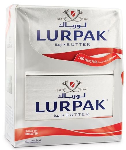 Lurpak Butter Unsalted 500g Pack of 2 Offer