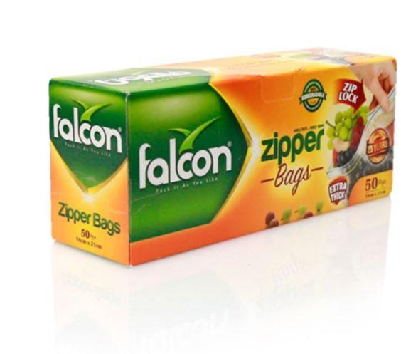 Falcon Freezer Zipper Bag 21 x 18cm