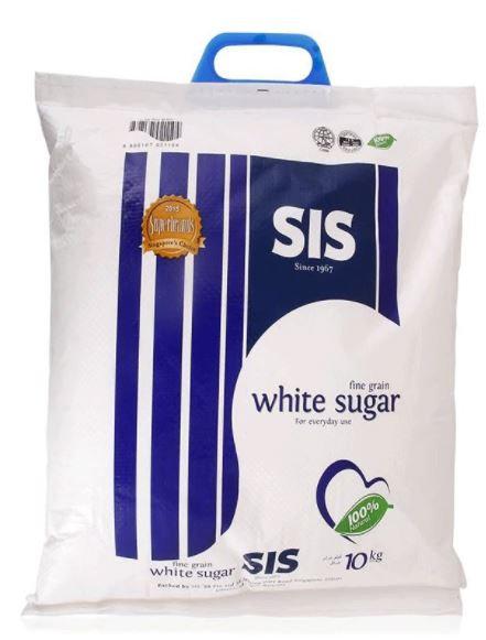 SIS Fine Grain White Sugar 10kg