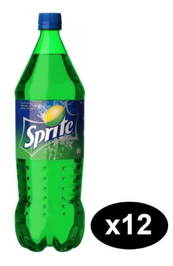 Sprite Carbonated Soft Drink 1L Pack of 12