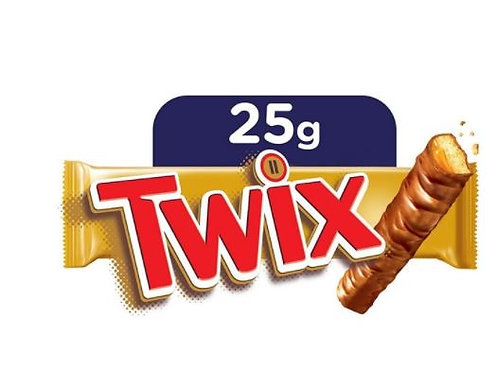 Twix Chocolate Bars Small 2 Pack