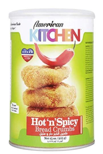 American Kitchen Bread Crumbs Hot & Spicy 425g