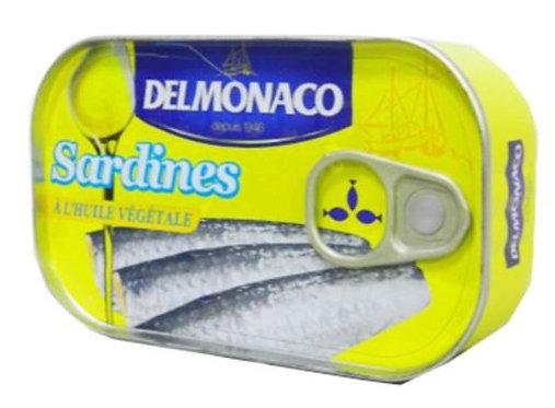 Del Monaco Sardines In Vegetable Oil 125g