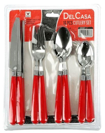 Delcasa 16 Pieces Cutlery Set