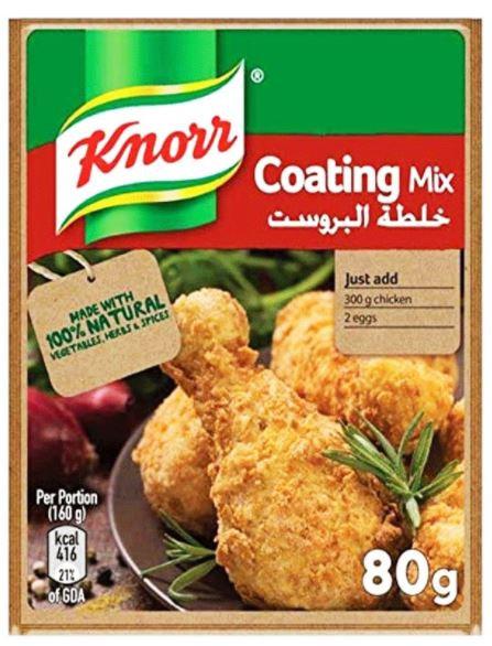 Knorr Side Dish Regular Coating Mix 80g