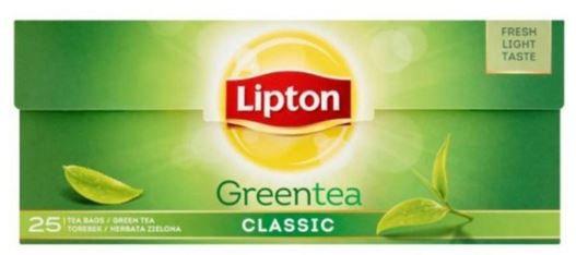 Lipton Green Tea Classic 25 Tea Bags