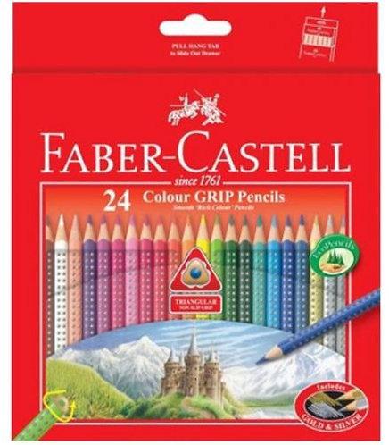 Faber Castell 24-Pcs Colour Pencils