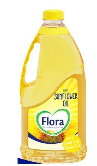 Flora Sunflower Oil 1.8L Pack