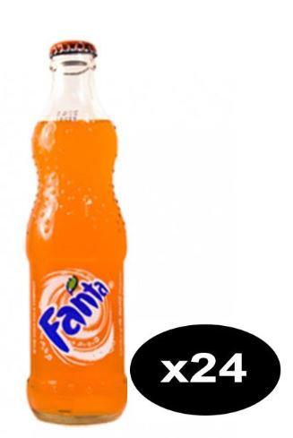 Fanta Orange Soft Drink 250ml Pack of 24