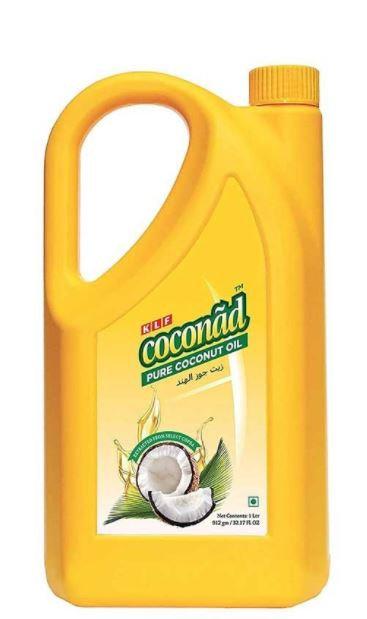 KLF Coconad Pure Coconut Oil 1 Liter