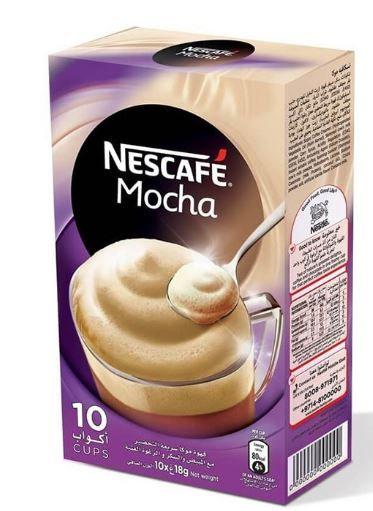 Nescafe Mocha Instant Mix 10 Sachets