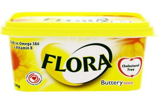 Flora Vegetable Oil Spread Buttery 500g