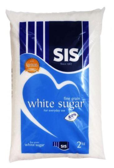 Fine White Sugar 2kg Packet