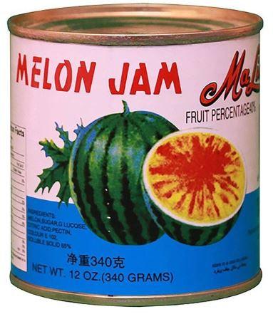 Maling Melon Fruit Jam 340 gram