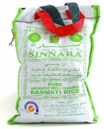 Sinnara Pure Cleaned Basmati Rice 2kg