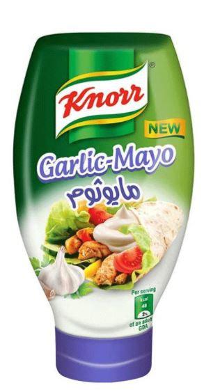 Knorr Mayonnaise Garlic 532ml